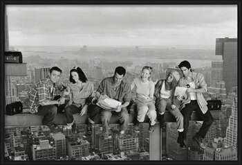 Plakat Friends - Lunch On A Skyscraper