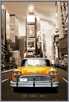 Plakat New York taxi no. 1