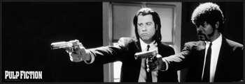 Plakat Pulp Fiction - b&w guns
