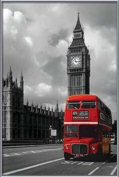 Plakat London red bus