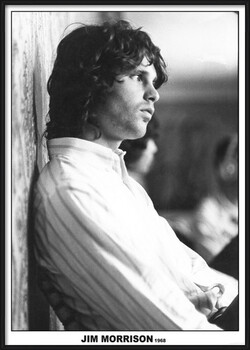 Oprawiony plakat Jim Morrison - The Doors 1968