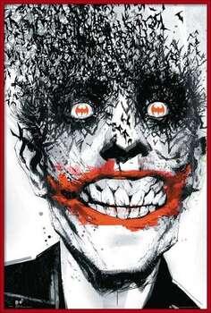 Oprawiony plakat BATMAN Comic - Joker Bats