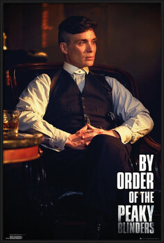 Oprawiony plakat Peaky Blinders - By Order Of The