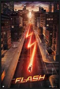 Oprawiony plakat The Flash - One Sheet