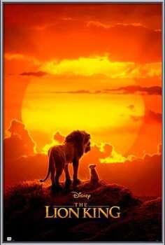 Oprawiony plakat The Lion King - One Sheet