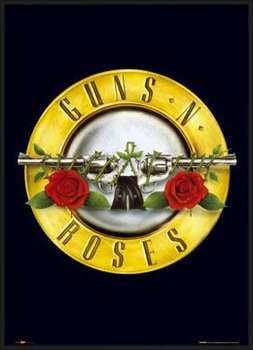 Oprawiony plakat Guns'n'Roses - logo
