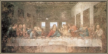 Oprawiony plakat The Last Supper