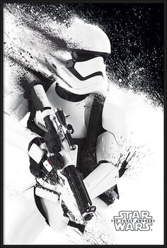 Oprawiony plakat Star Wars Episode VII: The Force Awakens - Stormtrooper Paint
