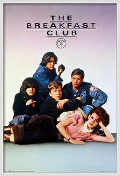 Oprawiony plakat The Breakfast Club - Key Art