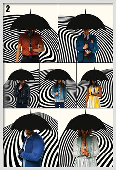 Oprawiony plakat The Umbrella Academy - Family