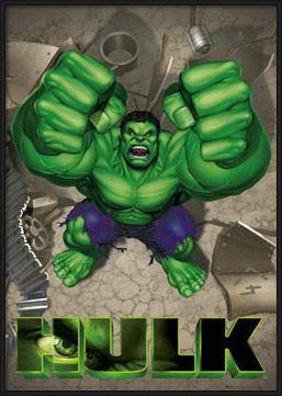 Plakat  HULK - rage