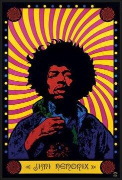 Plakat  Jimi Hendrix - psychedelic