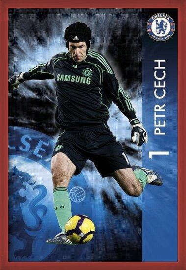 Plakat  Chelsea - Petr Čech