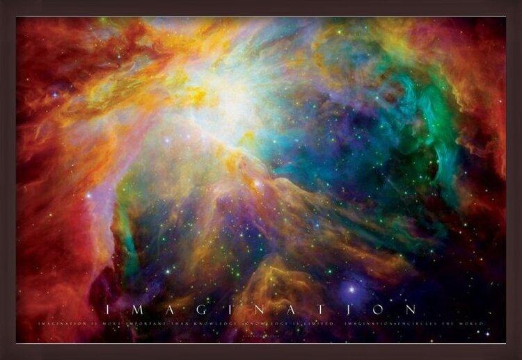 Plakat  Imagination - nebula