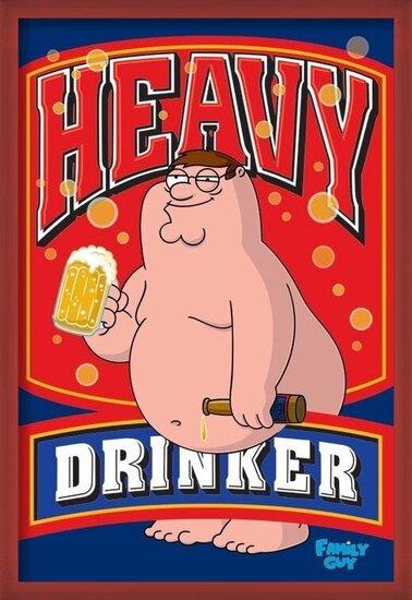 Plakat FAMILY GUY - heavy drinker