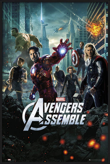 Plakat  AVENGERS - one sheet