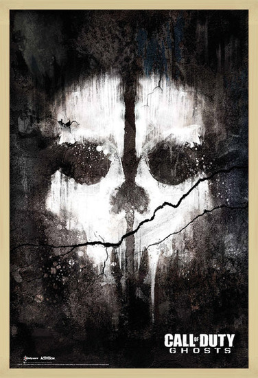 Plakat Call of Duty Ghosts - skull