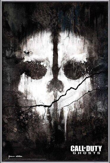 Plakat  Call of Duty Ghosts - skull