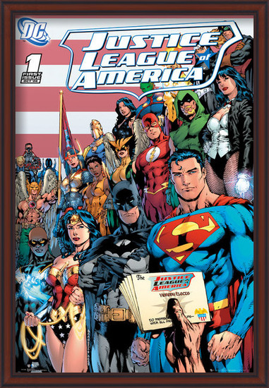 Plakat  DC COMICS - justice league cover