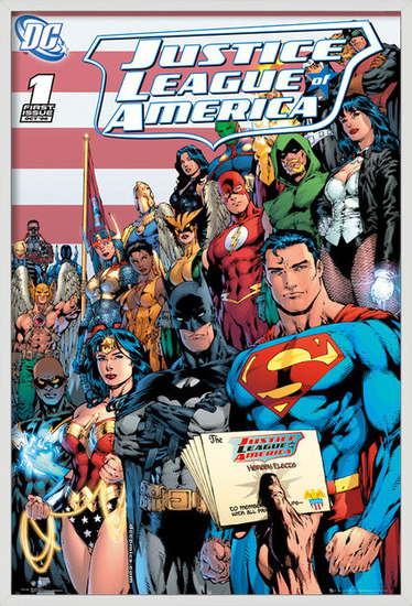 Plakat  DC COMICS - justice league cover