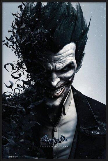 Plakat  BATMAN ORIGINS - joker bats