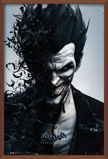 Plakat  BATMAN ORIGINS - joker bats