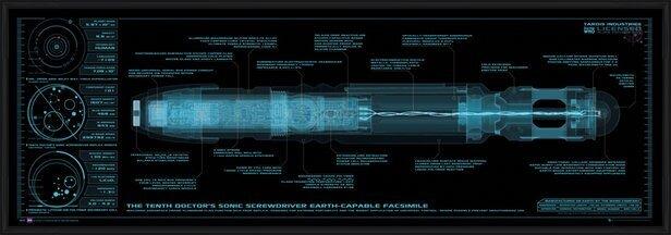 Plakat  DOCTOR WHO - sonic screwdriver