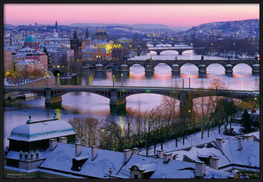 Plakat Prague – Prague bridges