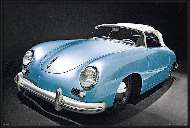 Plakat Porsche speedster - oldtimer