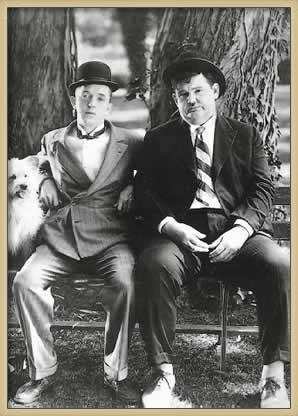 Plakat LAUREL & HARDY - dick & doof