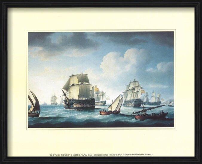Reprodukcja  The Battle Of Trafalgar