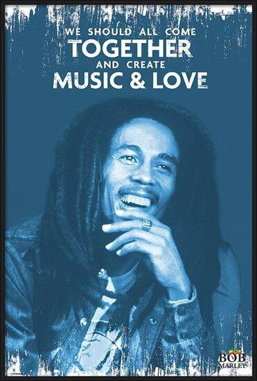 Plakat  Bob Marley - Music and Love