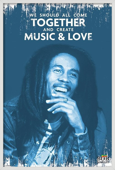 Plakat Bob Marley - Music and Love