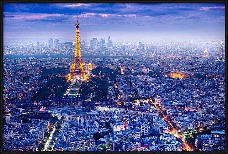 Plakat  Paryz - View Over Paris