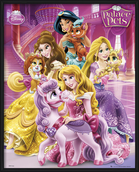 Plakat  Disney Princess Palace Pets - Cast