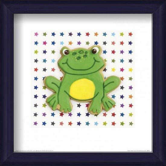 Reprodukcja  Howard Shooter and Lauren Floodgate - Happy Hoppy Frog