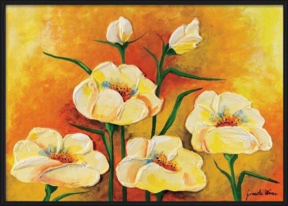 Reprodukcja Anemones in Bloom