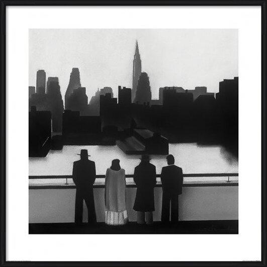 Reprodukcja  David Cowden - Skyline