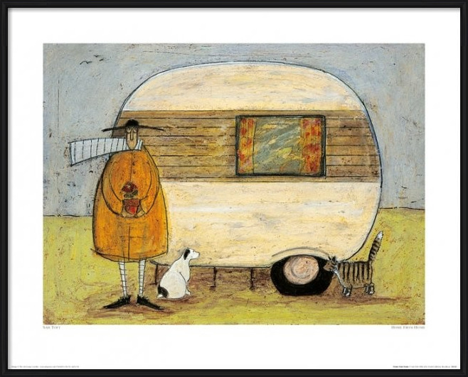 Reprodukcja  Sam Toft - Home From Home