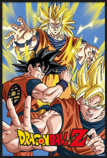 Plakat  Dragon Ball Z - Goku