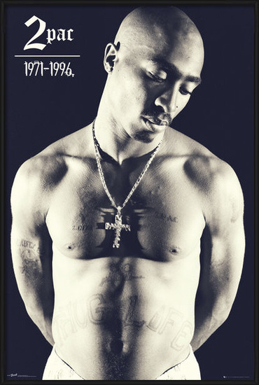 Plakat  Tupac - Cross