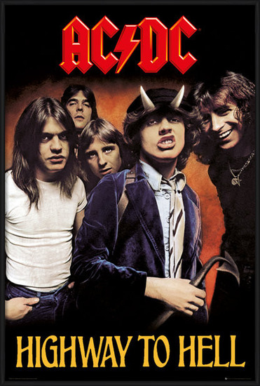 Plakat  AC/DC - Highway to Hell
