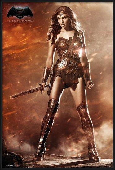 Plakat  Batman v Superman: Dawn of Justice - Wonder Woman