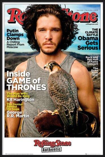 Plakat Rolling Stone - Game of Thrones Jon Stark