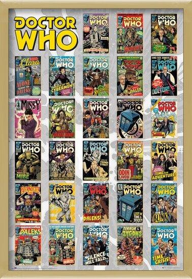 Plakat  Doctor Who - Comics Compilation