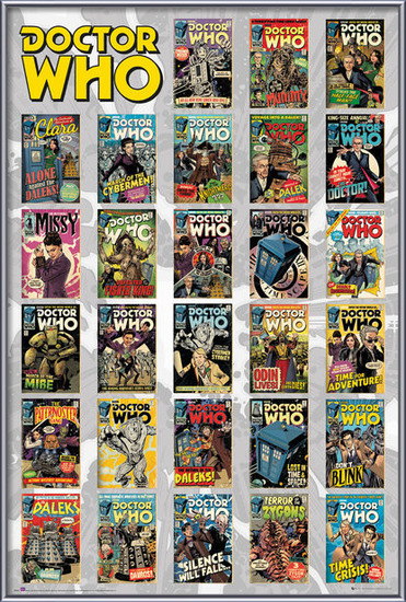 Plakat  Doctor Who - Comics Compilation