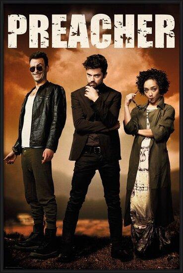 Plakat  Preacher - Group
