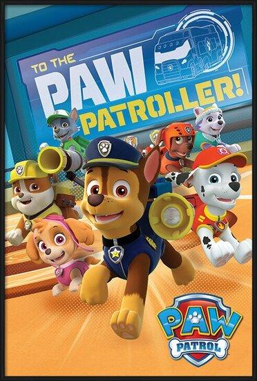Plakat  Psi patrol - To The Paw Patroller