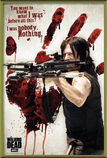 Plakat  Walking Dead - Bloody Hand Daryl