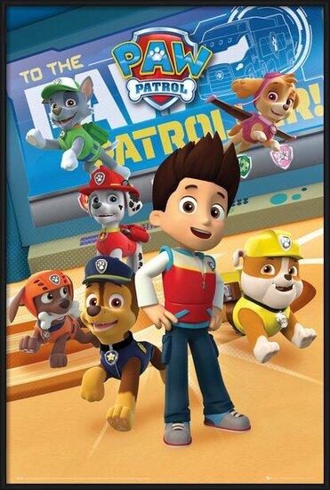 Plakat  Psi patrol - Characters